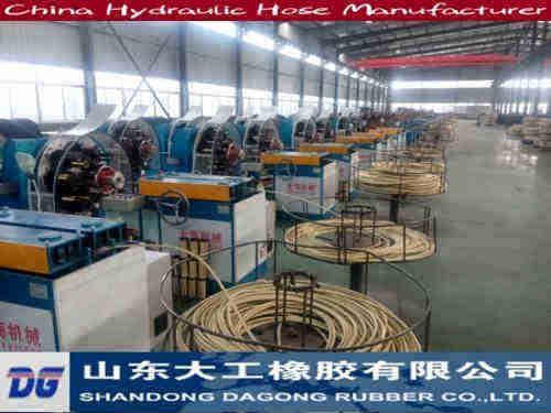 Hydraulci hose manufacturer in Zaozhuang, Shandong, China