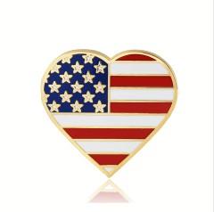 American flag lapel pins