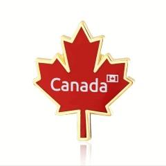 Stock Canada Flag Lapel Pins