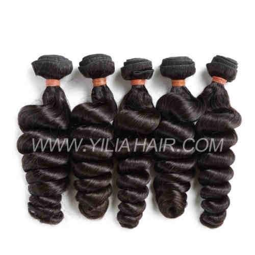 virgin Malaysian hair weave