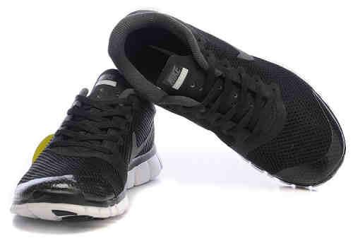 Buy Mens Nike Free 3.0 V3 Shoes Black Grey with wholesale Price