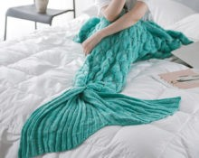 Mermaid blanket fish scales style for adult
