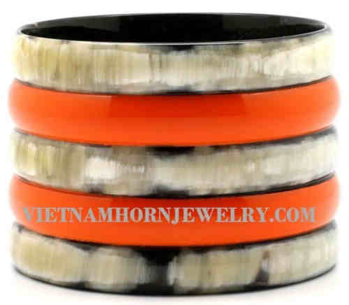 Lacquer Horn Bangle