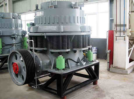 Best Sale Spring Cone Crusher With High Adaptability
