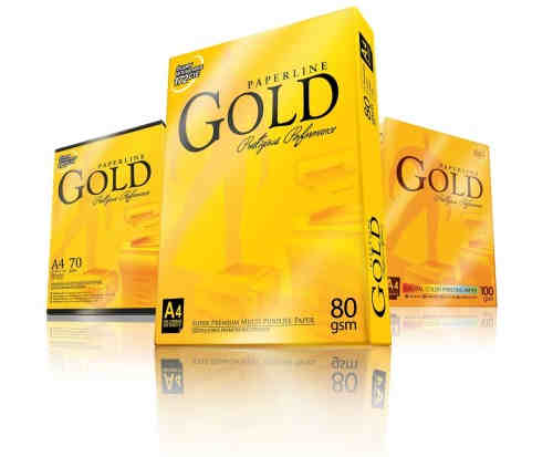 Paperline Gold A4 Copy Paper 80GSM