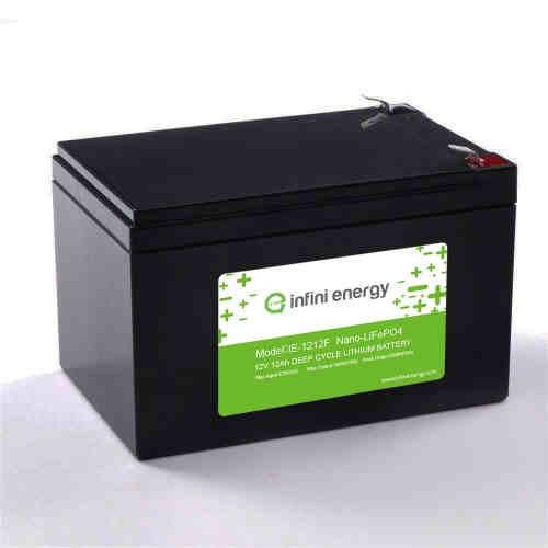 12V12Ah lithium solar light battery