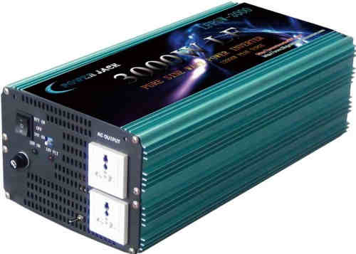 LF 3000W Pure Sine Wave Power Inverter DC 12V to AC 220V