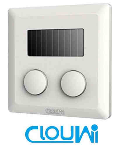 Two Double Way 2.4G Wall Wireless Switch For Lighting