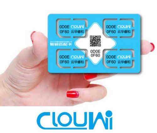 2.4G Encrypted Communication Smart Pairing Card For Wireless Switch