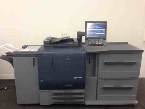 Konica Minolta Bizhub Pro C6000 Copier Printer Scanner Machine