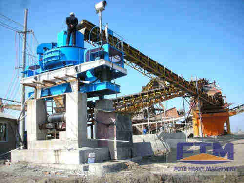 Hot Sale River Stone Sand Maker Machine