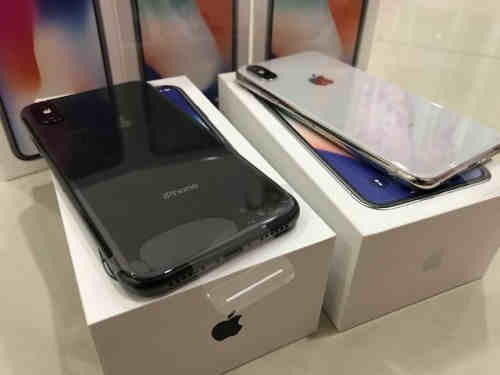 Apple iPhone X 64GB and 256GB