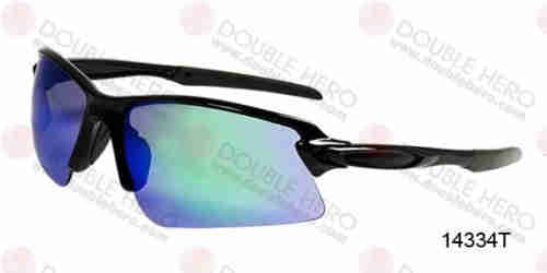 Rimless Sporting Plastic Sunglasses - 14334T