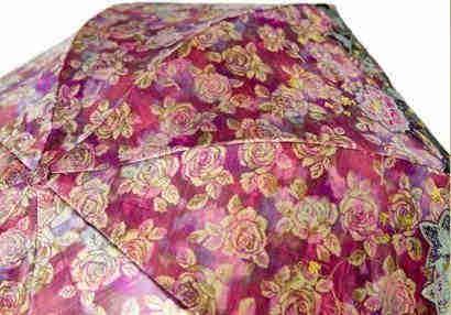 Warp Printed Jacquard for Umbrellas