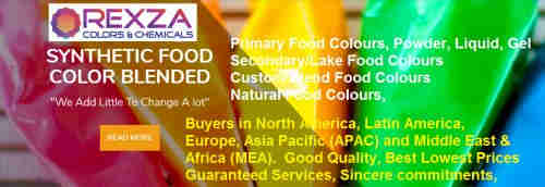 Food Colours, Custom Blend Food Colours,Lake Food Colours, Natural & Synthetic