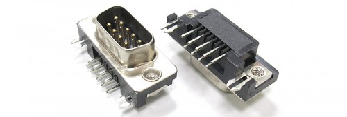 D-Sub 9 Pin Male Connector