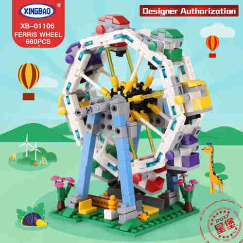 Lepin XingBao 01106 The Ferris Wheel Set Building Blocks