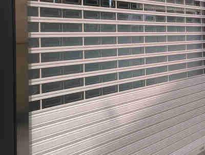Garage Rolling Door – Polycarbonate