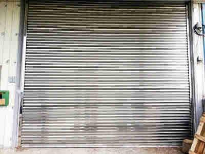 Garage Rolling Door - Stainless Steel