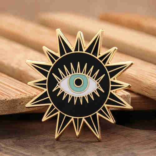 Sun Enamel Pins