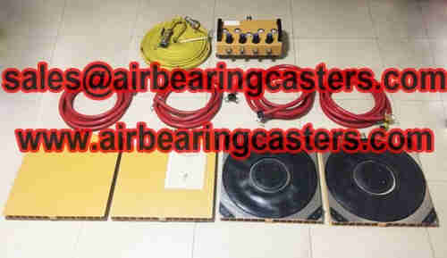 Air bearing casters for sale with 8% off
