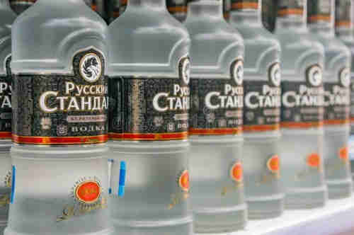 NEW STOCK RUSSIAN VODKA