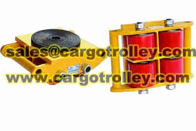 Industrial machinery skates application and advantages