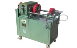 electric steel bar threading machine
