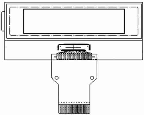 Monochrome LCM Graphic Type - PHG1203D1