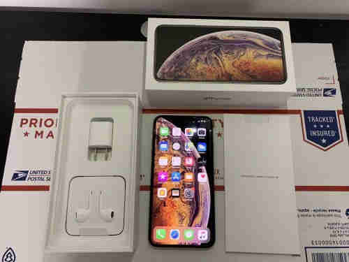 New Apple iPhone XS Max 256GB Gold Unlocked
