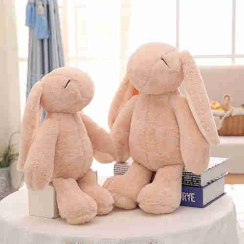 Long-eared rabbit plush animal