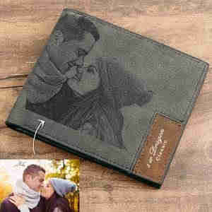 personalized photo wallets