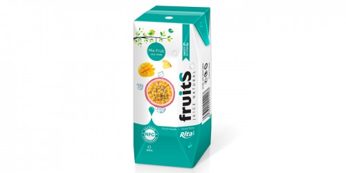 Mix Fruit Juice Prisma 200ml from RITA beverages
