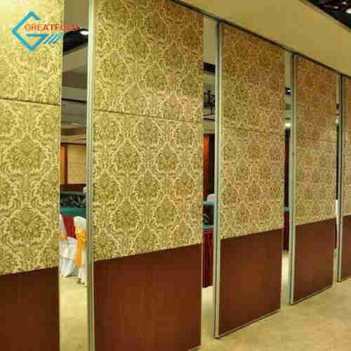 movable partition wall for shopping center