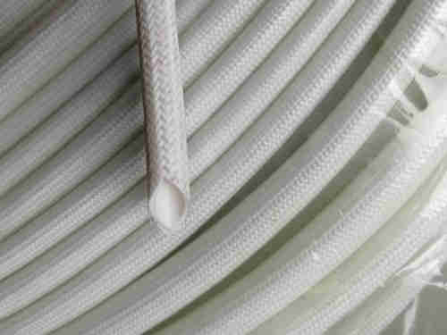 silicone rubber fiberglass sleeving(inside fiber outside rubber)
