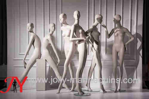Jolly mannequins new design abstract female mannequin high fashion Melody Collection