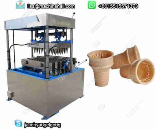 60 Mould Wafer Cone Making Machine with Factory Price