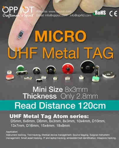 Mini UHF Metal Tag OPPD5
