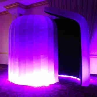 LED INFLATABLE IGLOO PHOTOBOOTH