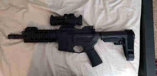 """Ar15 7.5"""" Pistol"""